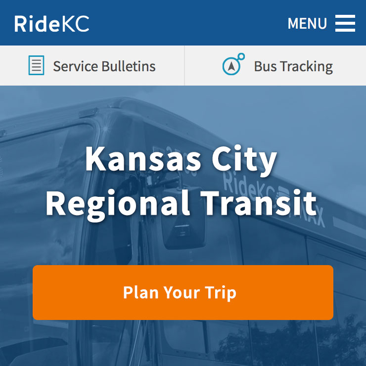 Website Development: RideKC