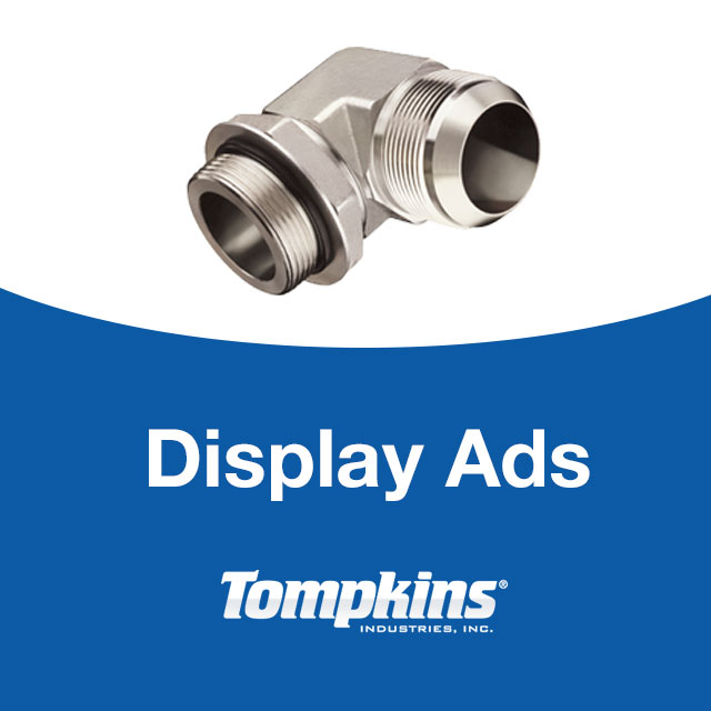 Marketing: Tompkins Trade Publication Display Ads